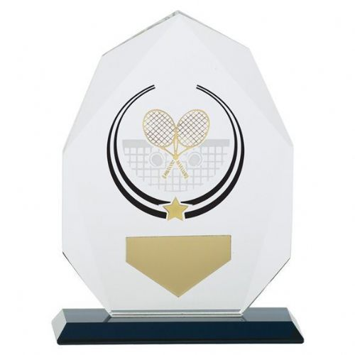 Glacier Tennis Glass Award 160mm